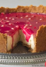 Pomegranate Cheesecake-1