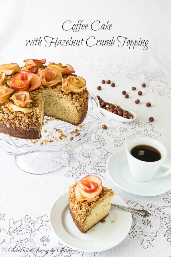 Hazelnut Crumb Coffee Cake