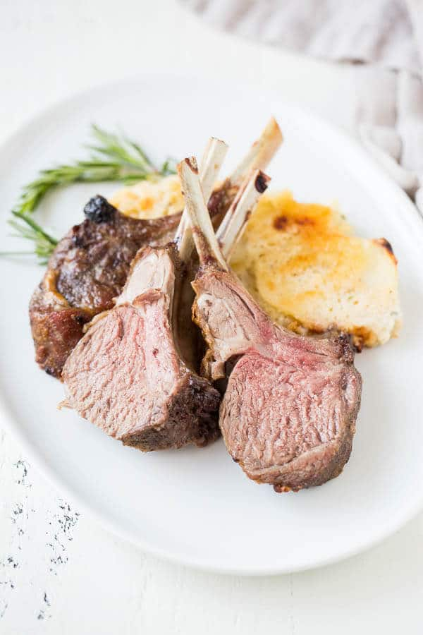 Roasted Rack of Lamb with Rosemary and Garlic ~Sweet ...