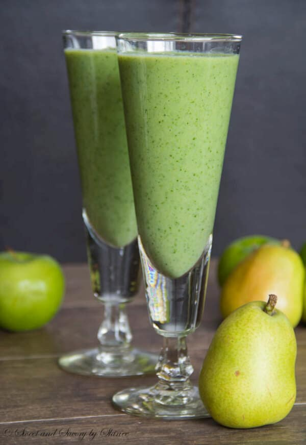 Apple Spinach Smoothie Sweet Amp Savory By Shinee