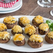 Quinoa Stuffed Mushrooms-1