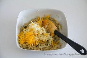 Quinoa Stuffed Mushrooms- Step 4
