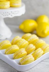 Lemon French Macarons-1