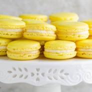 Lemon French Macarons-2