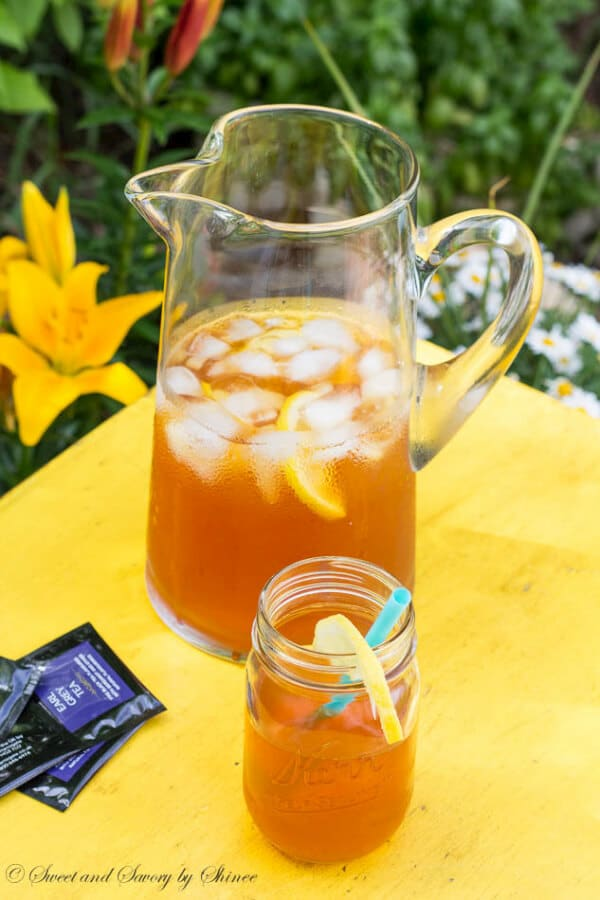 Introducing a new iced tea flavor: classic earl grey tea with lemon ...