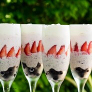 Red, Blue and White Chocolate Mousse-1