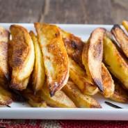 Garlic Rosemary Baked Steak Fries-9