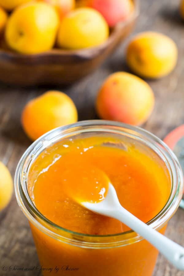 slightly tart apricot jam is the best way to preserve your apricots ...