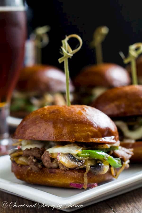 Philly Cheese Steak Sliders Sweet Amp Savory By Shinee