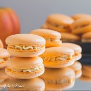 Pumpkin French Macarons-4