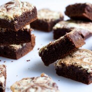 Triple Chocolate Kahlua Brownies-4