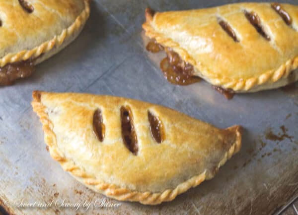 Apple Pie Turnovers ~Sweet & Savory by Shinee