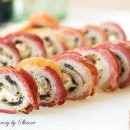 Bacon Wrapped Pork Roll-ups