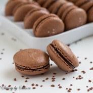 Chocolate Macarons-7
