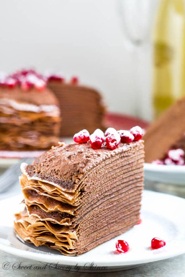 Chocolate Mousse For Cake Layers