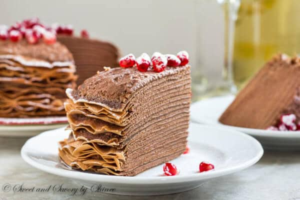 mousse crepe cake recipe on food52 spicy chocolate mousse crepe cake ...