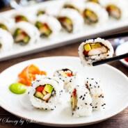 Homemade Sushi Roll-6