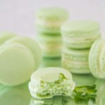 Mint French Macarons-7