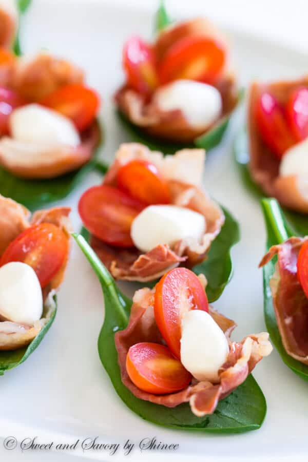 Prosciutto Cups ~Sweet & Savory by Shinee