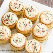 Salted Caramel Mini Tea Cakes-4