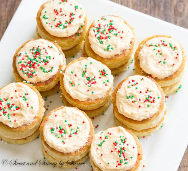Mini Layer Cakes Appetizers