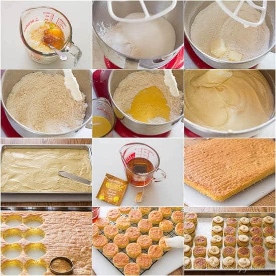 Salted Caramel Mini Tea Cakes