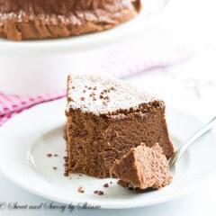 Chocolate Souffle Cheesecake-3