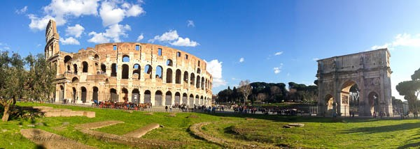 Travel Photo Journal- Rome- Colosseum