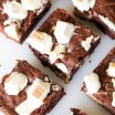 Extra Fudgy KitKat Brownies-2