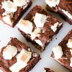 Extra Fudgy KitKat Brownies-2