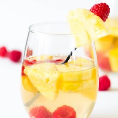 Pineapple Raspberry Sangria-4