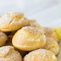 Lemon Creme Puffs