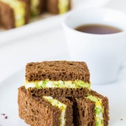 Spicy Avocado Egg Salad Tea Sandwiches-1