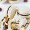 Chocolate Hazelnut Macarons-4