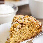 Pear Coffee Cake-1