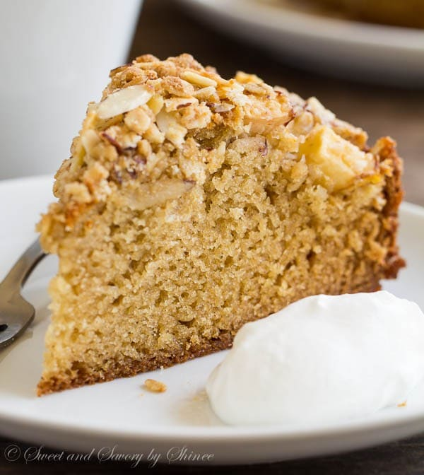 Coffee Cake With Canned Pears