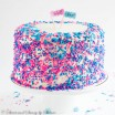 Gender Reveal Pinata Cake-2