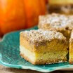 Pumpkin Streusel Bars FB-1