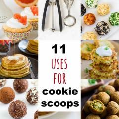 Cookie Scoop Uses