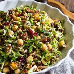 Warm Quinoa Brussels Sprout Salad-1