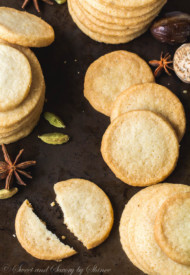 Spiced Shortbread Cookies-3