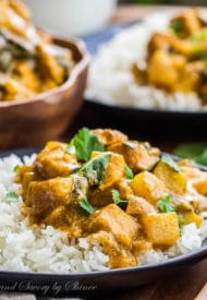 Easy Bok Choy and Chicken Curry-2