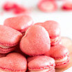 Strawberry Macarons-2