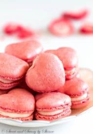 Strawberry Macarons-2