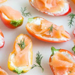 Feature- Smoked Salmon Stuffed Sweep Peppers-1