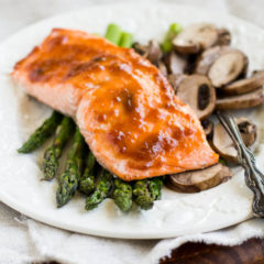 One Pan Baked Salmon Dinner-2