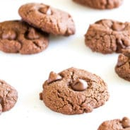 Double Chocolate Almond Cookies-5