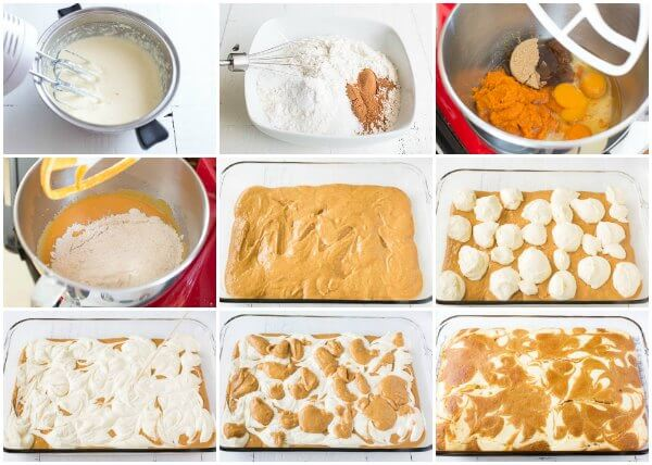 Giant Pumpkin Cheesecake Cake - True Crowd-Pleaser. Step by step photo directions...