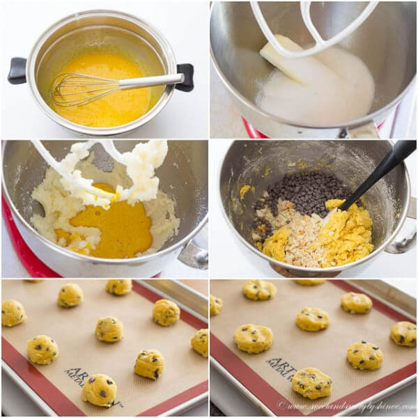 egg yolk cookies