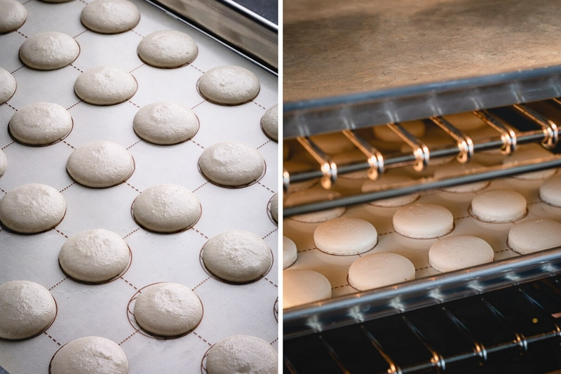 Step by step macaron recipe with lots of tips for success! #frenchmacarons #macaronrecipe